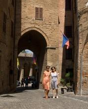 Sarnano, Brunforte Arch